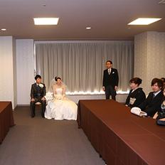 福島市 結婚式場 クーラクーリアンテ(旧サンパレス福島)親族控室