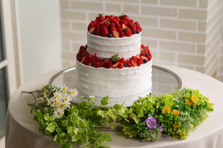 福島市 結婚式場 クーラクーリアンテ(旧サンパレス福島)ケーキ