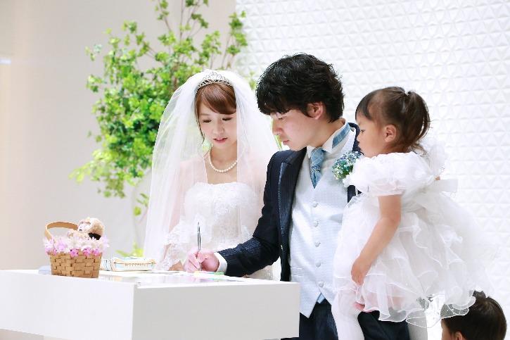 福島市 結婚式場 クーラクーリアンテ(旧サンパレス福島)署名