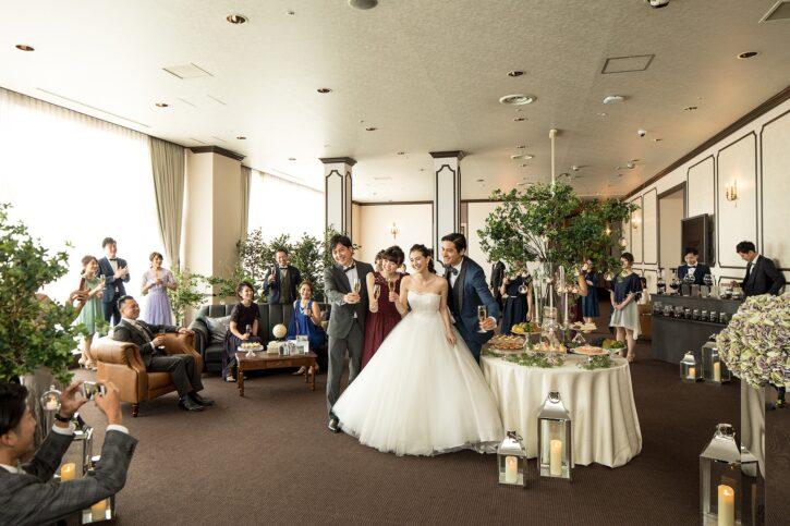 福島市 結婚式場 クーラクーリアンテ(旧サンパレス福島)ウエルカムパーティー
