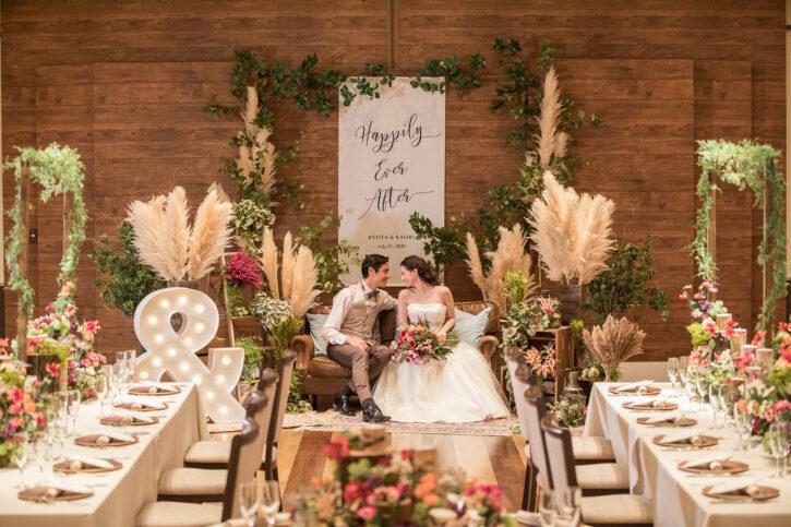 福島市 結婚式場 クーラクーリアンテ(旧サンパレス福島)メイン 高砂