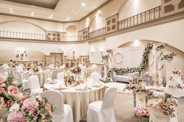 福島市 結婚式場 クーラクーリアンテ(旧サンパレス福島)パーティー
